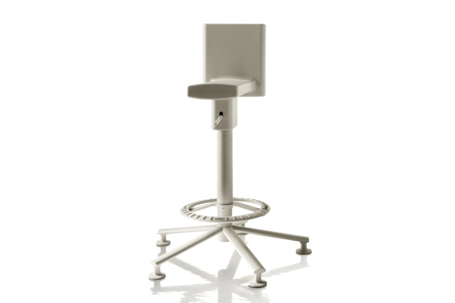 360° Swivel Stool Light Grey