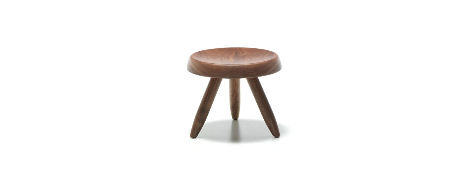 524 Beger Stool American Walnut