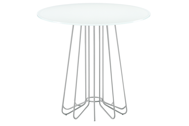 651 Smallwire Side Table White
