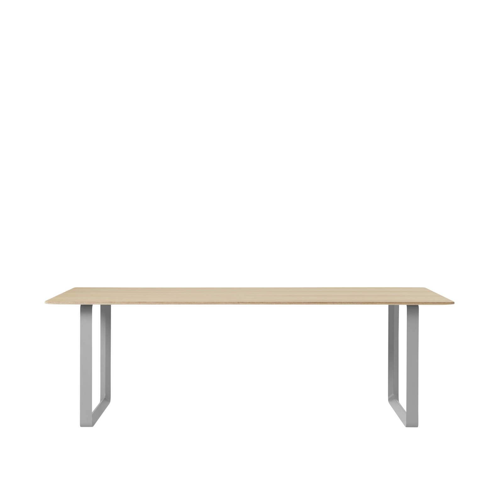 70/70 Table Large Oak/Grey