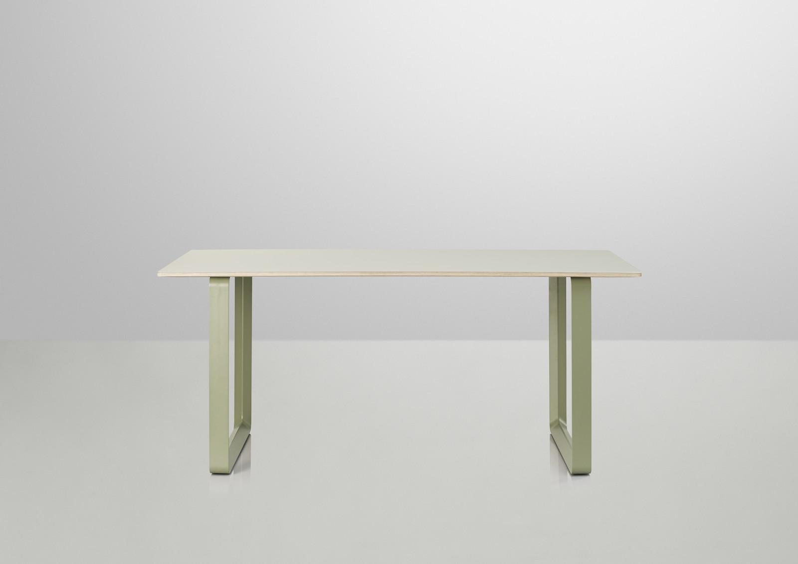 70/70 Table Small, Light Green, Light Green