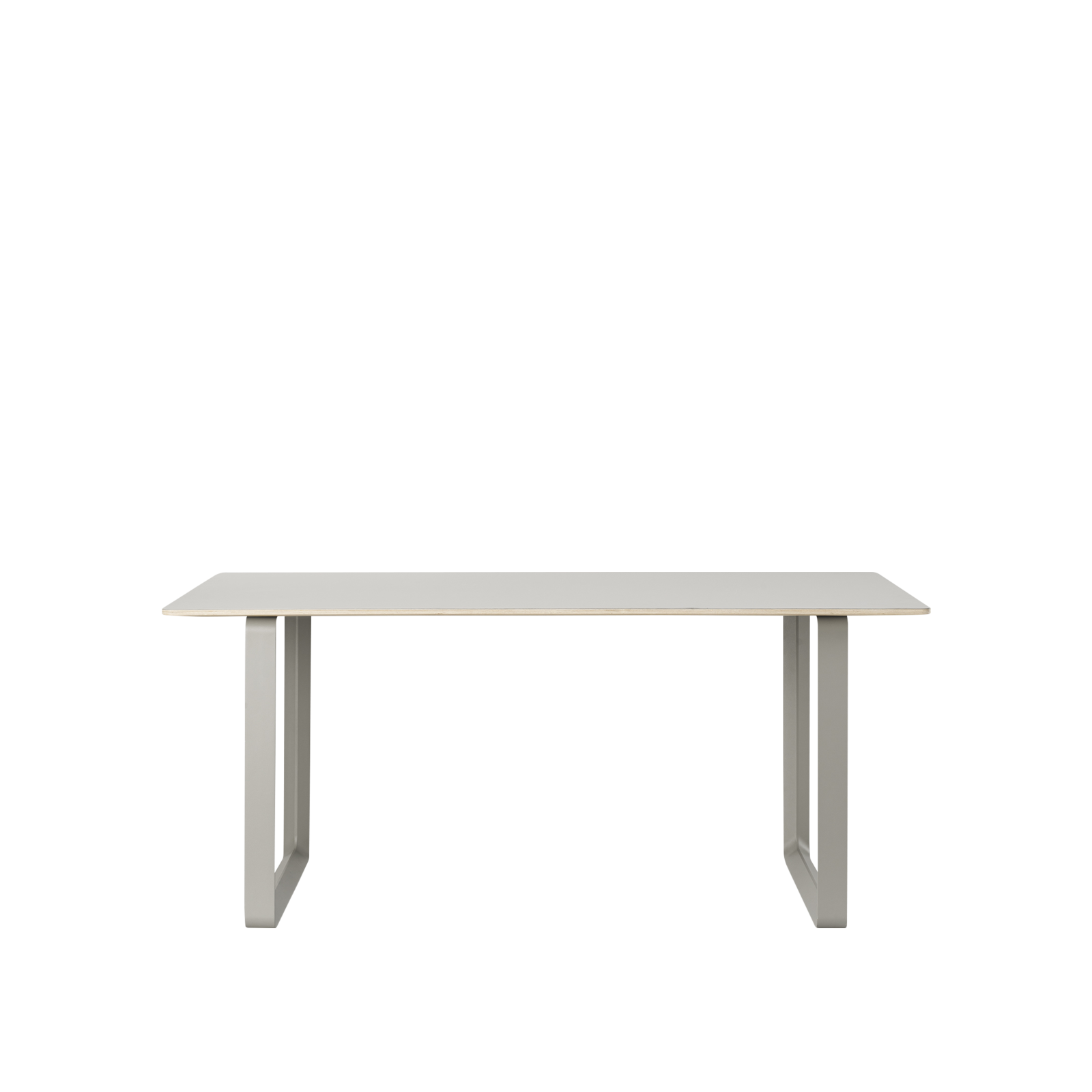 70/70 Table Small Grey/Grey