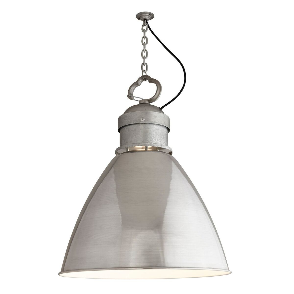 7380 Pendant Light Aluminum, Large