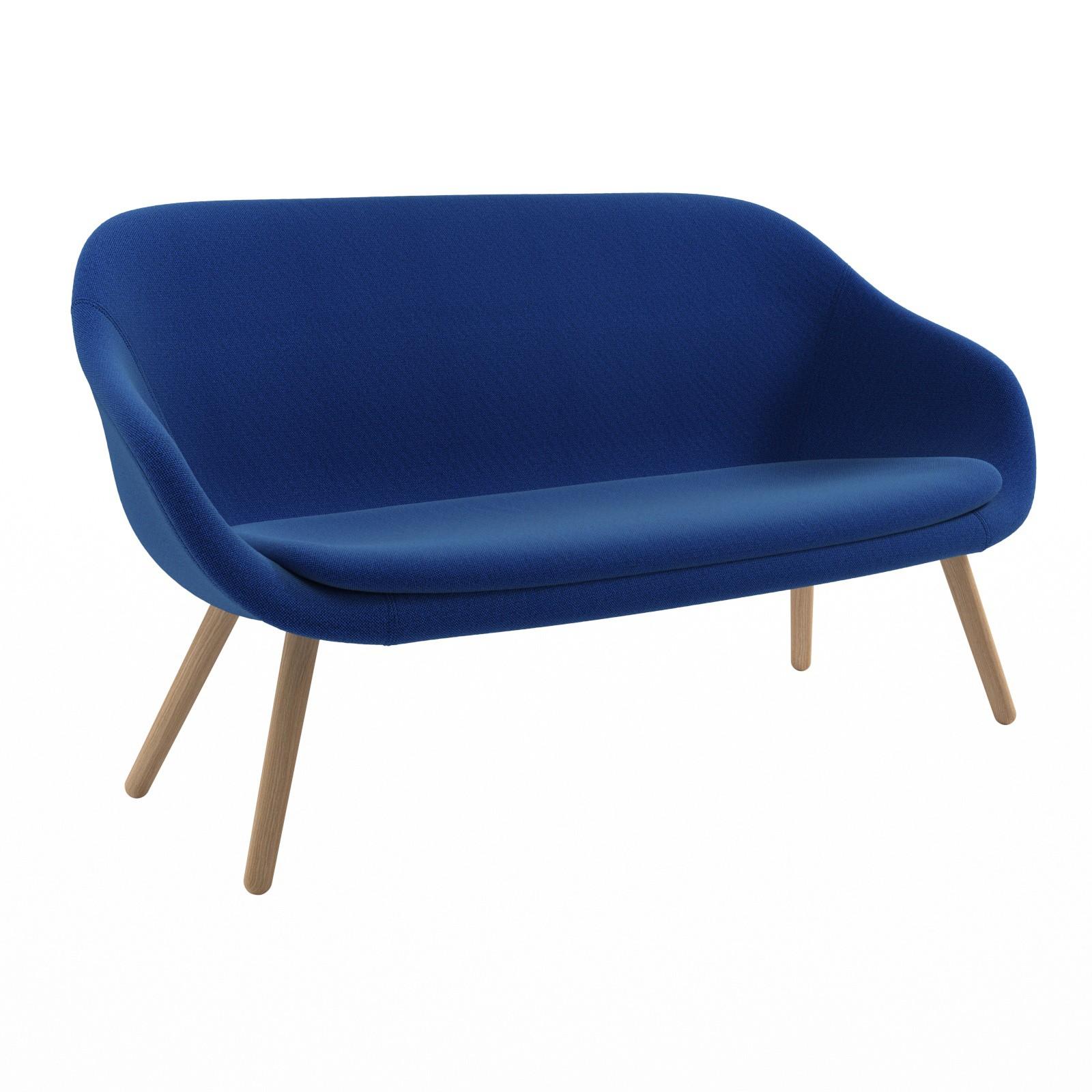 AAL sofa Hallingdal 65 754, Matt Lacquered Solid oak Frame, CMHR foam - No