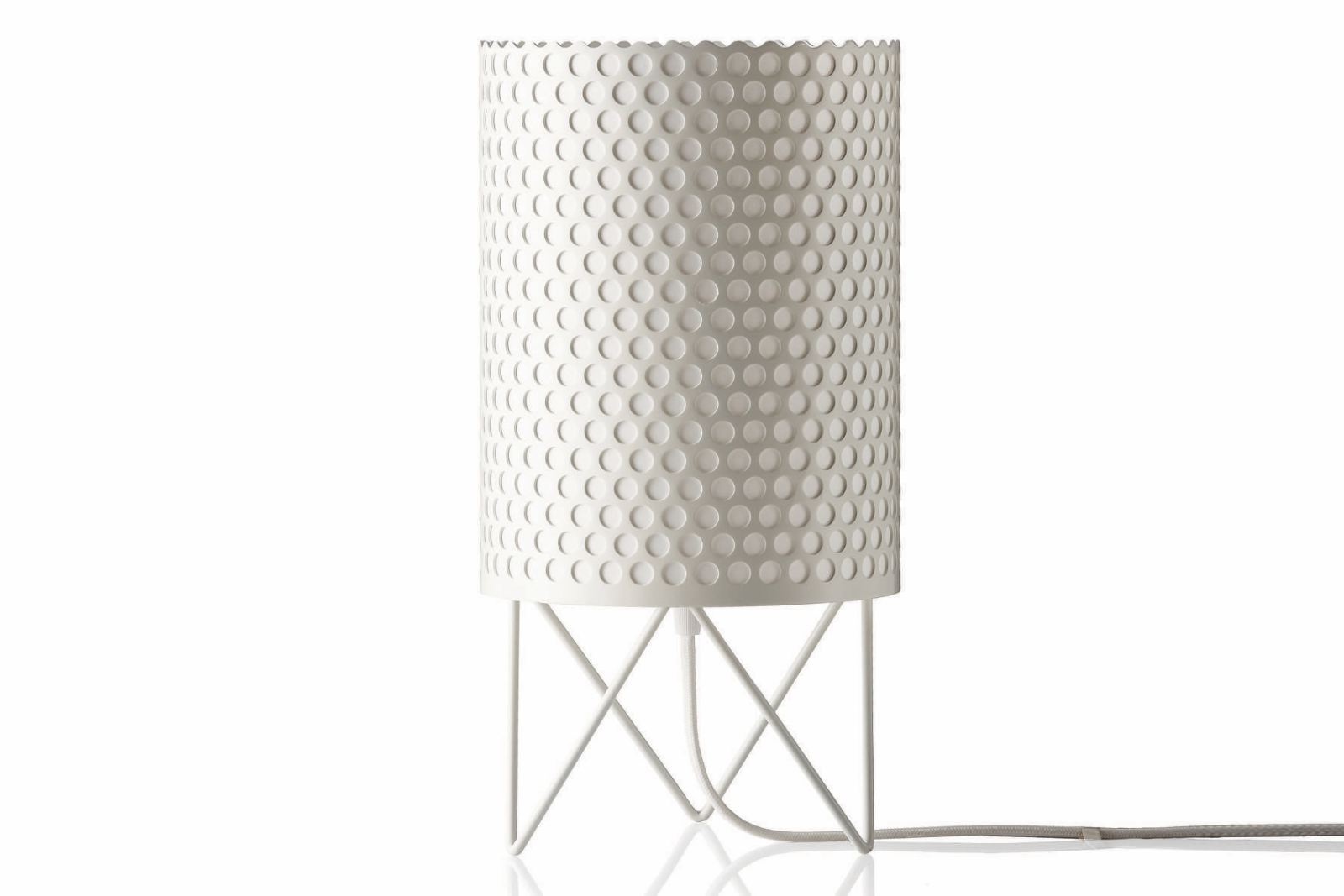 ABC Table Lamp Gubi Metal White