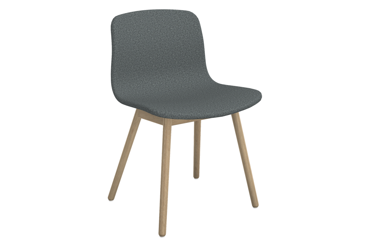About A Chair AAC 13 Divina melange 2 170, Clear Lacquered Solid oak Frame, CMHR foam - No, Standard