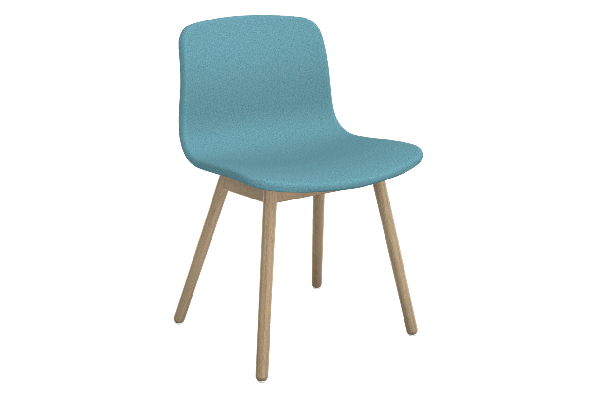 About A Chair AAC 13 Divina melange 2 721, Clear Lacquered Solid oak Frame, CMHR foam - No, Standard