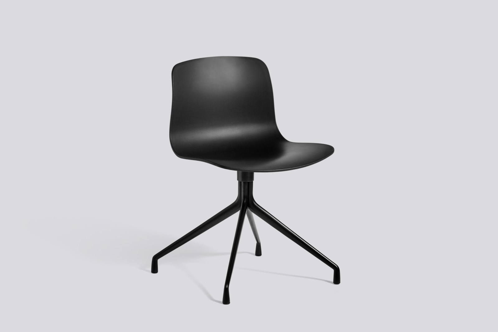 About A Chair AAC10 Black, Black Powder Coated Aluminium