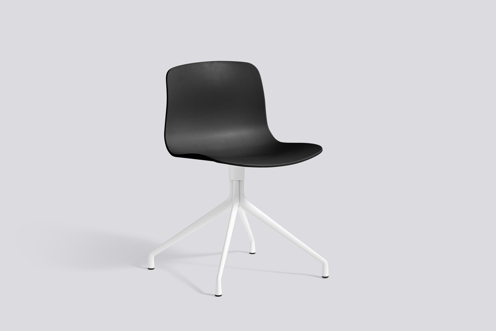 About A Chair AAC10 Black, White Powder Coated Aluminium