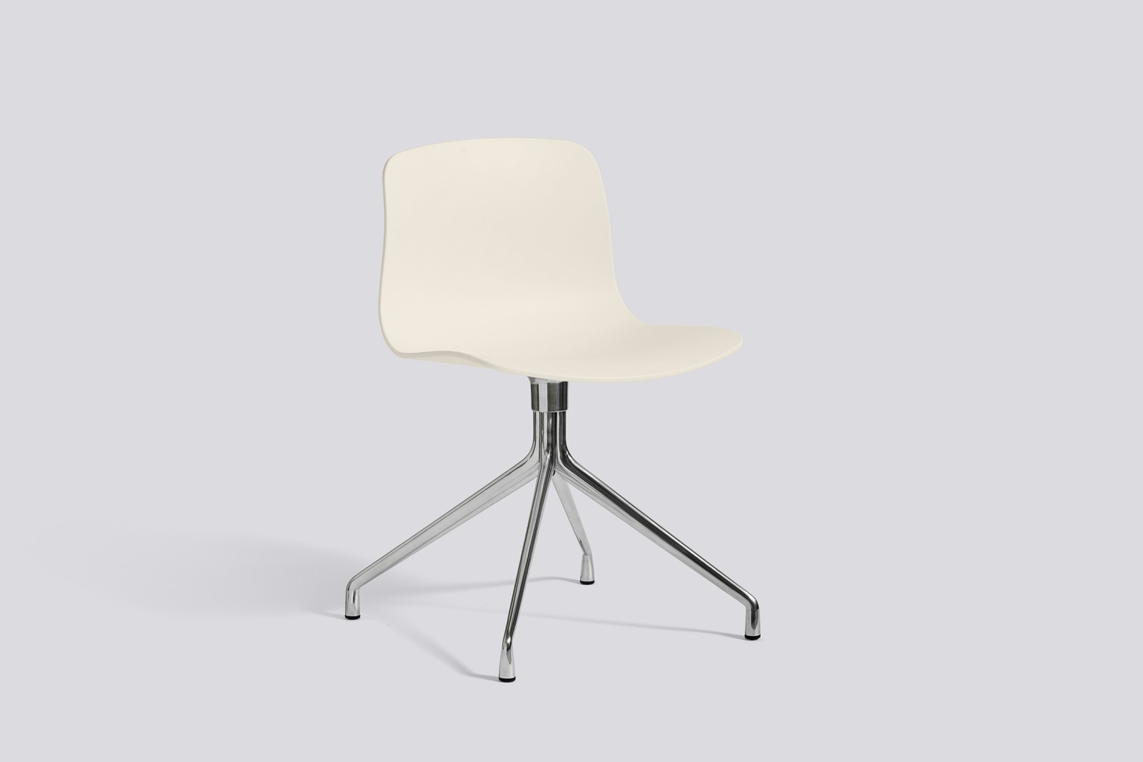 About A Chair AAC10 Cream white, Polished Aluminium