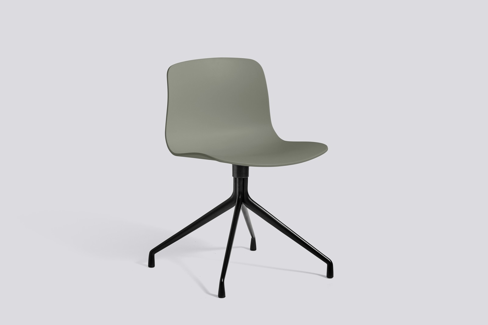 About A Chair AAC10 Dusty green, Black Powder Coated Aluminium