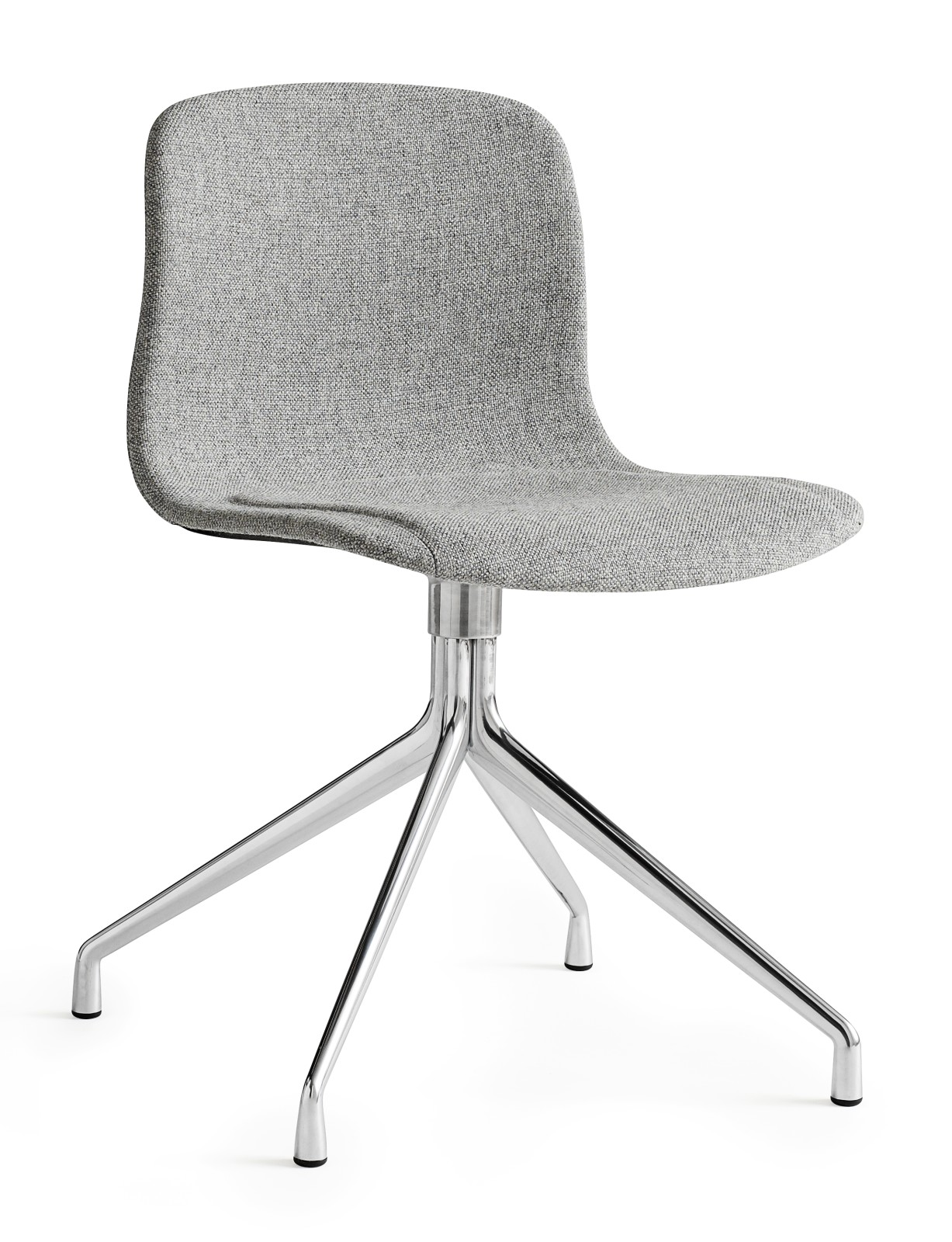 About A Chair AAC11 Hallingdal 65 100, Polished Aluminium Base