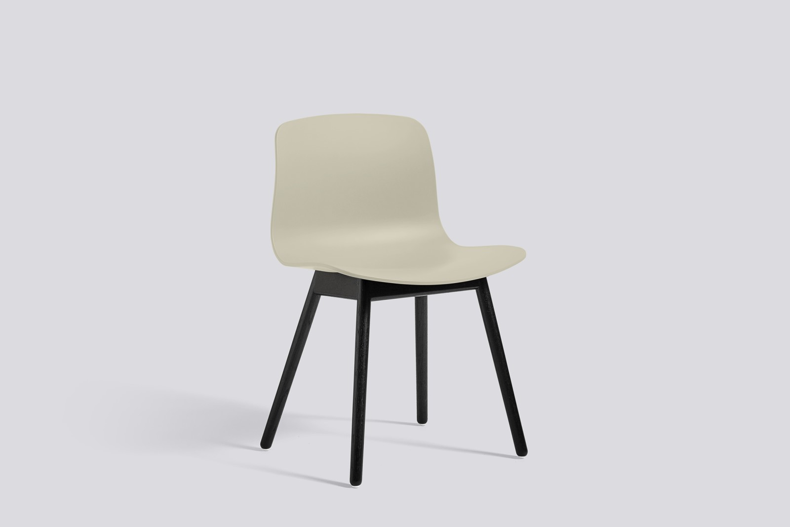 About A Chair AAC12 Pastel Green Seat and Black Stained Base
