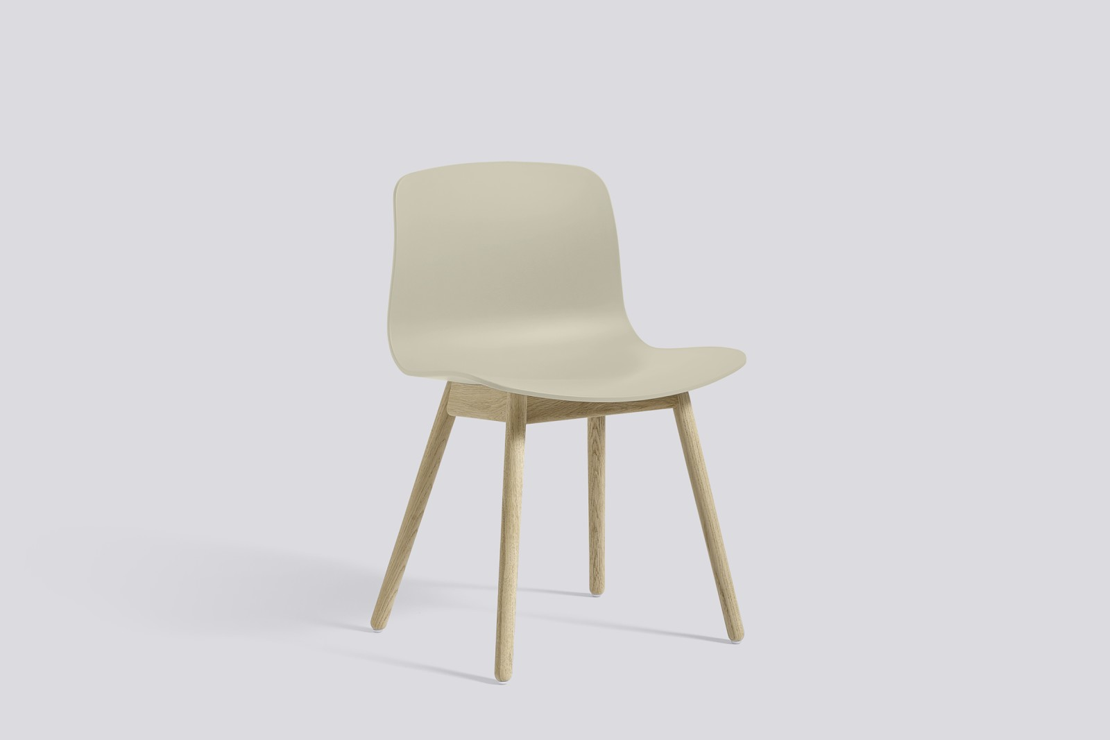 About A Chair AAC12 Pastel Green Seat and Soap Treated Oak Base