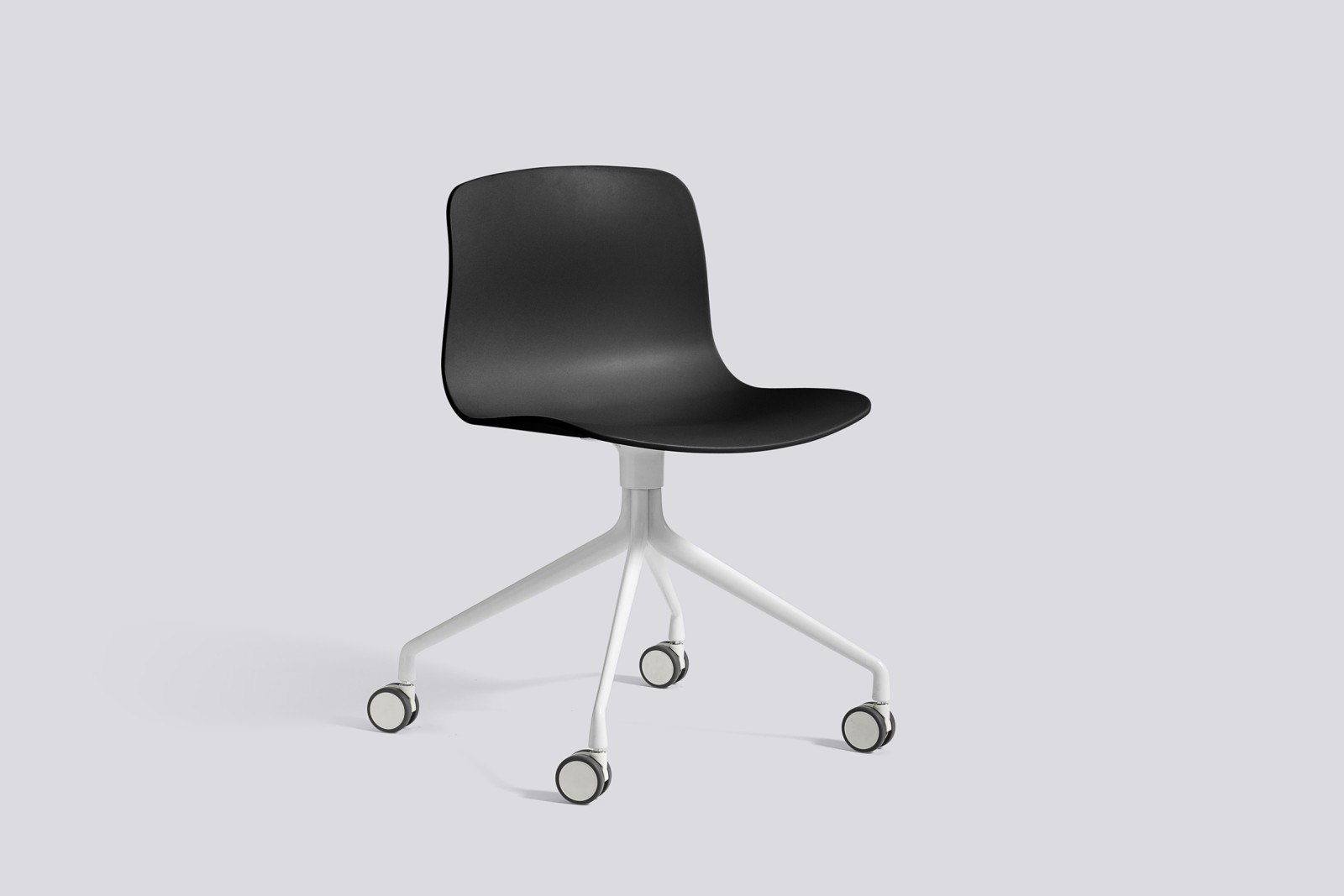 About A Chair AAC14 Black, White Powder Coated Aluminium