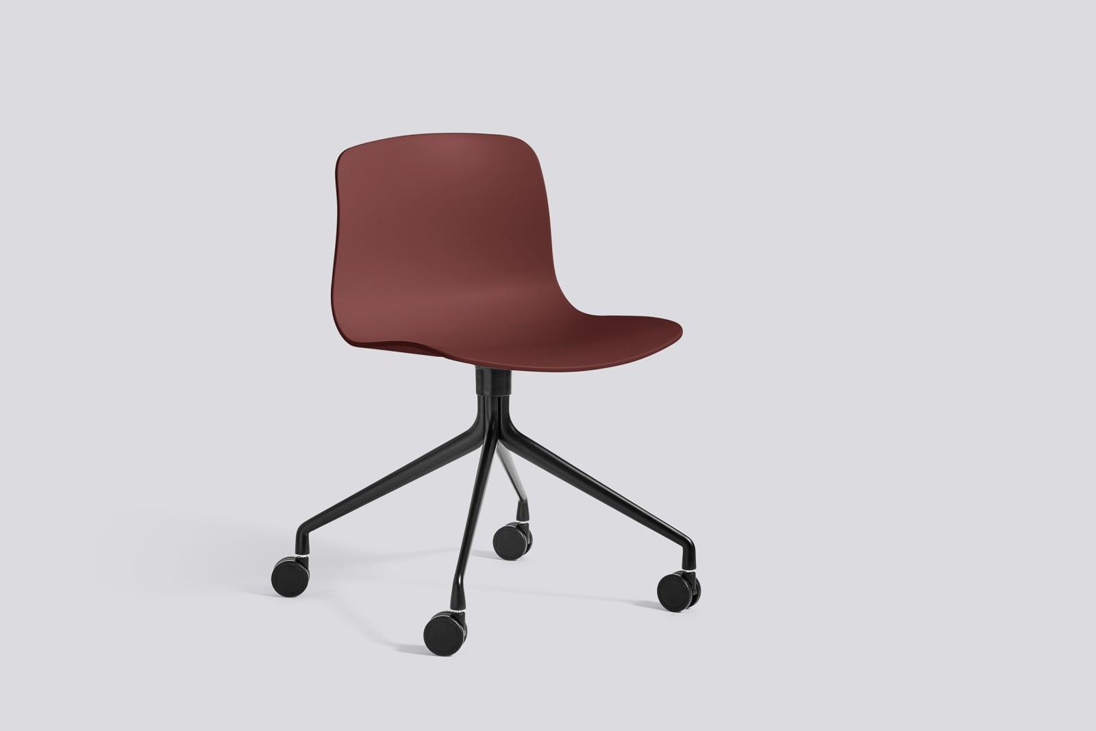 About A Chair AAC14 Brick, Black Powder Coated Aluminium