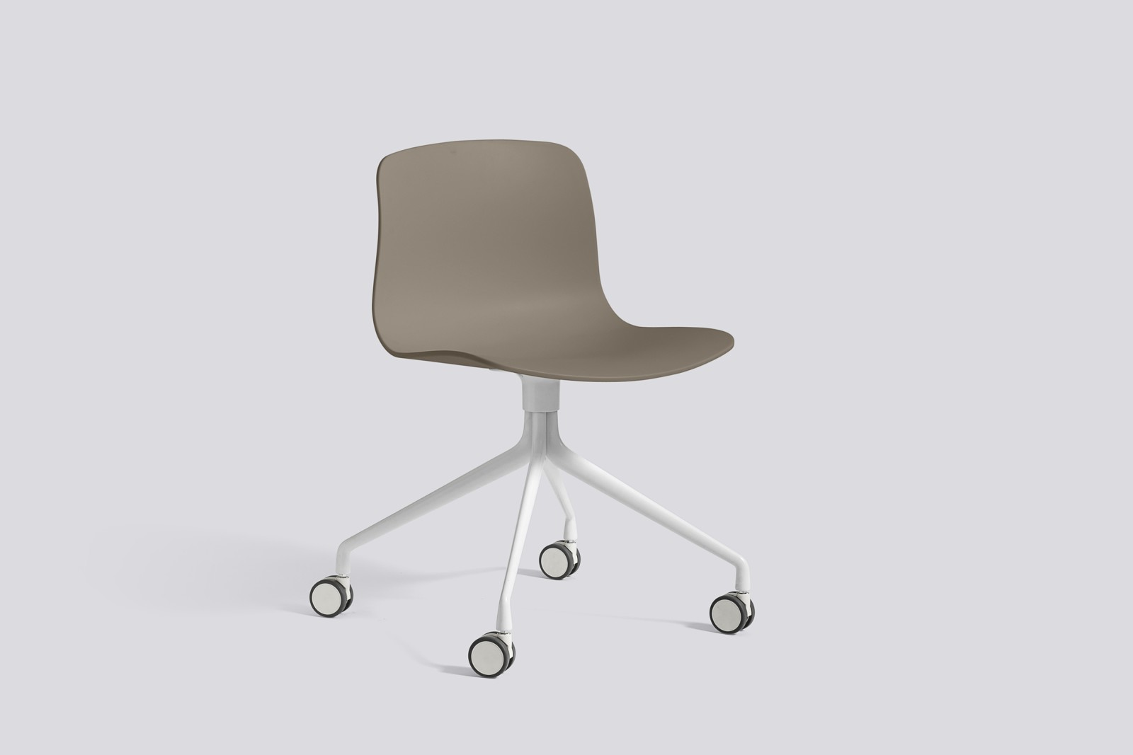 About A Chair AAC14 Khaki, White Powder Coated Aluminium