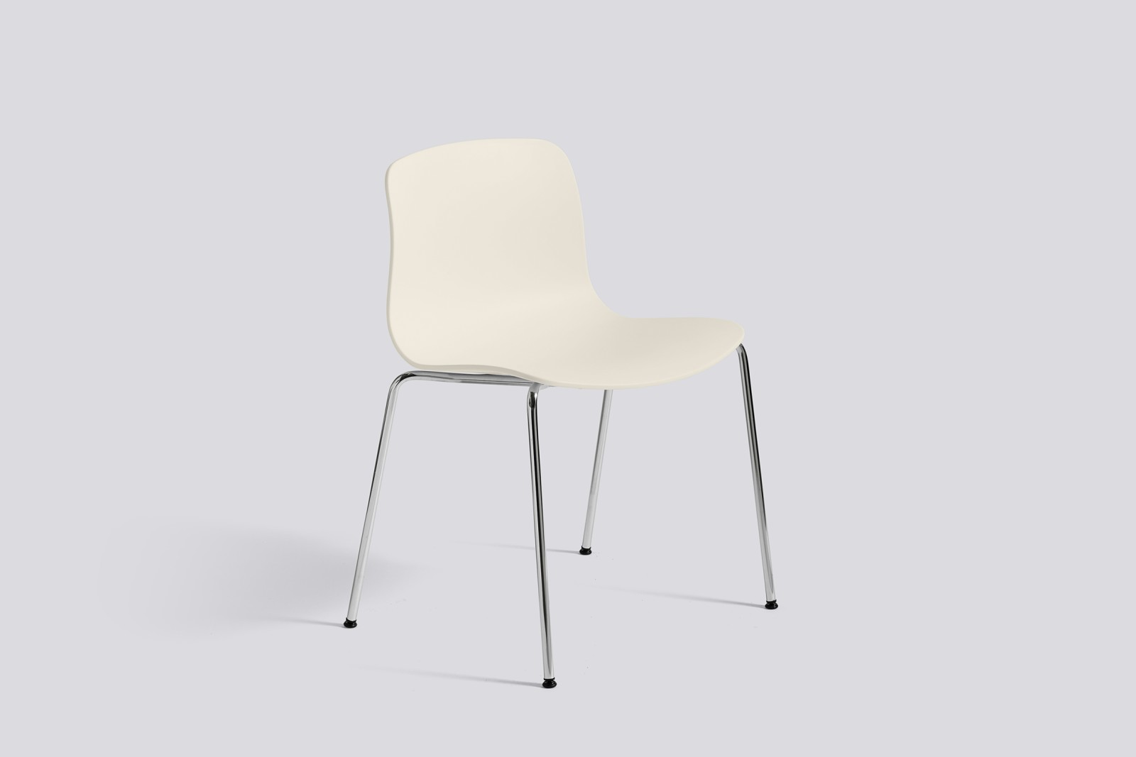 About A Chair AAC16 Cream white, Chromed Steel