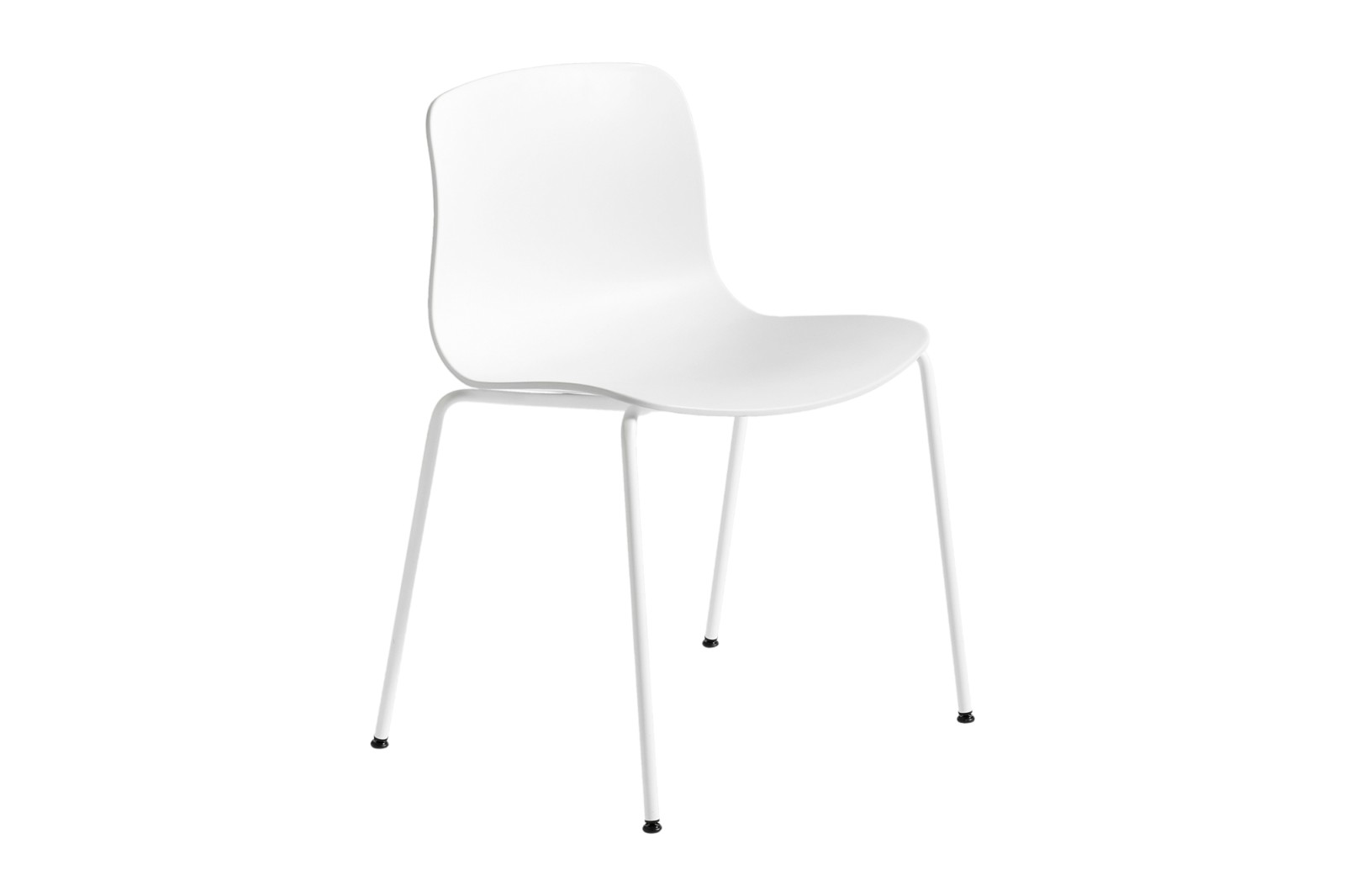 About A Chair AAC16 White, White Powder Coated Steel