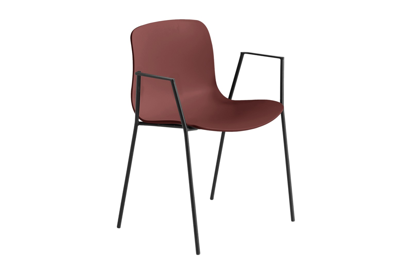 About A Chair AAC18 Brick, Black Powder Coated Steel