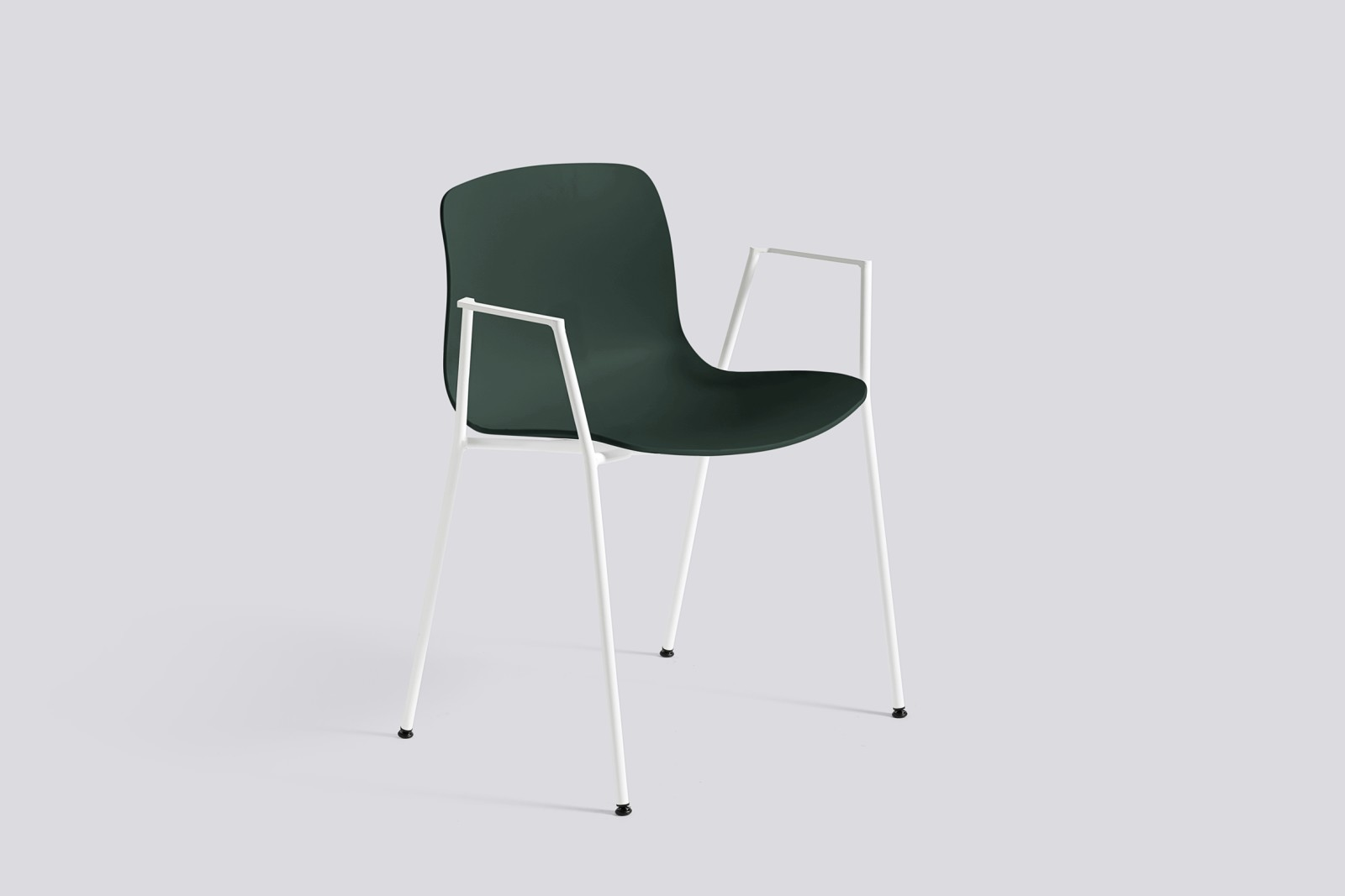 About A Chair AAC18 Hunter, White Powder Coated Steel