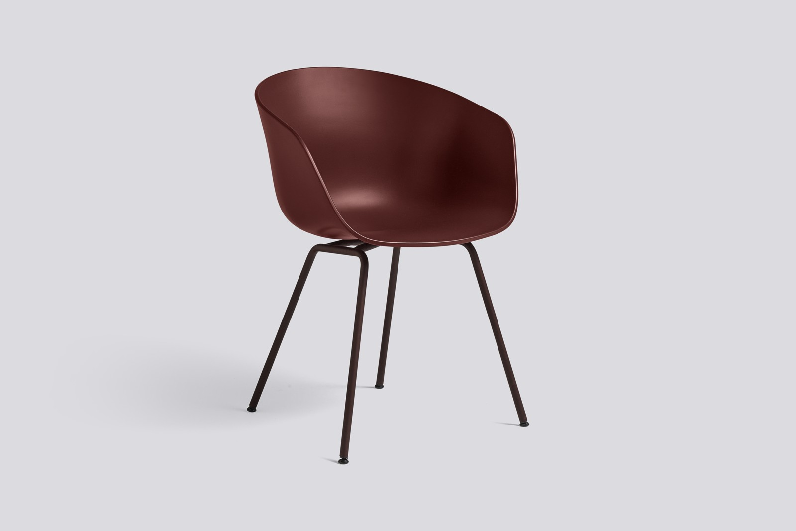 About A Chair AAC26 Brick, Black Powder Coated Steel