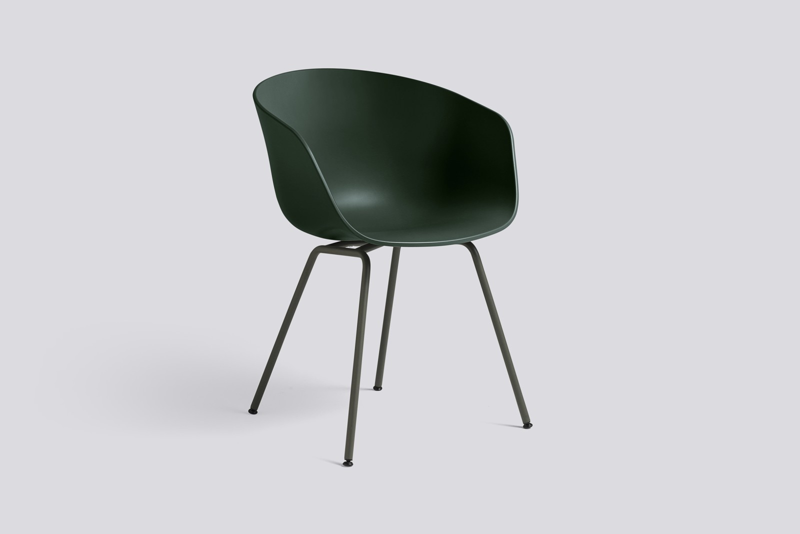 About A Chair AAC26 Green, Green Powder coated Steel