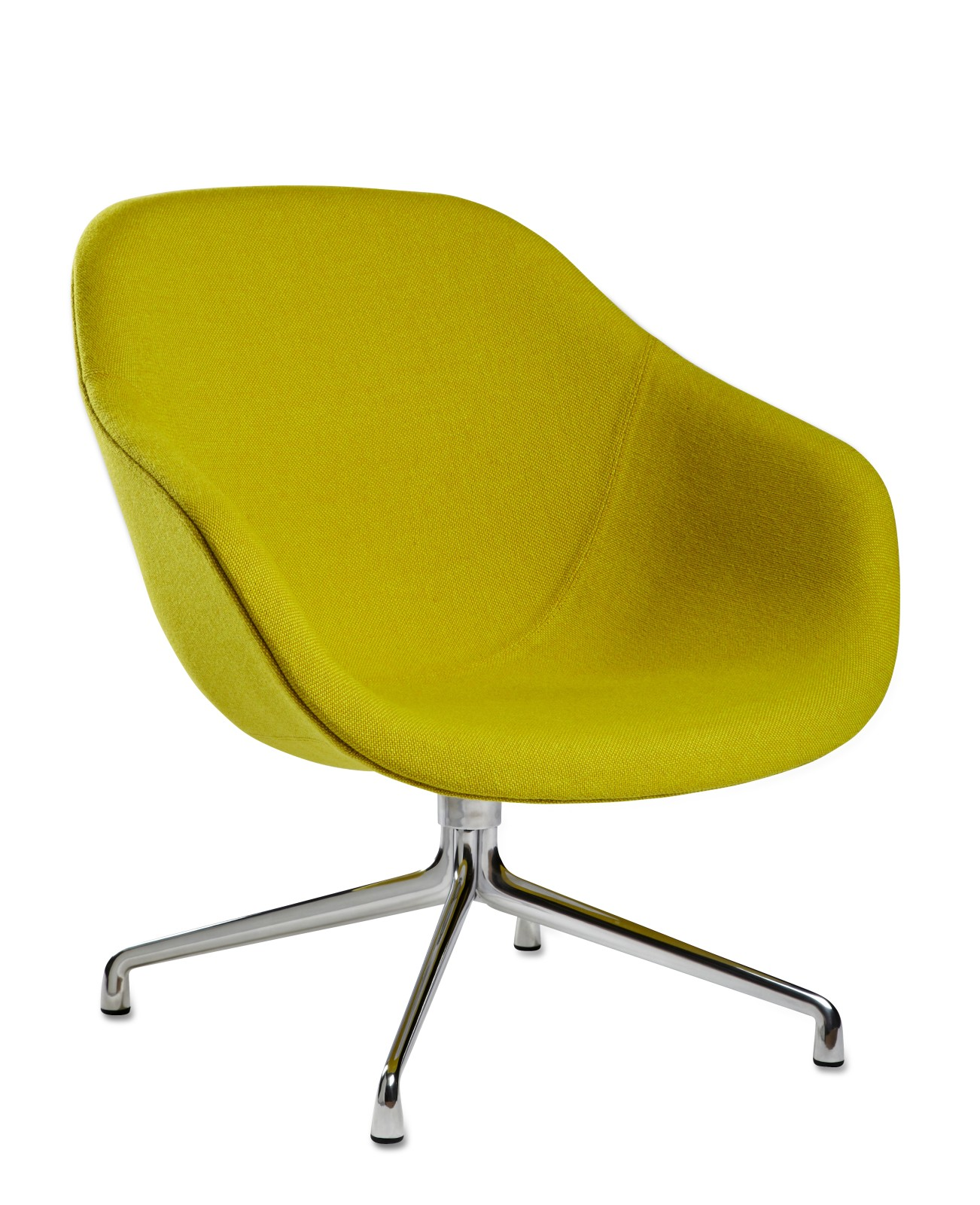 About A Lounge Chair AAL81 Hallingdal 65 100, Polished Aluminium Base