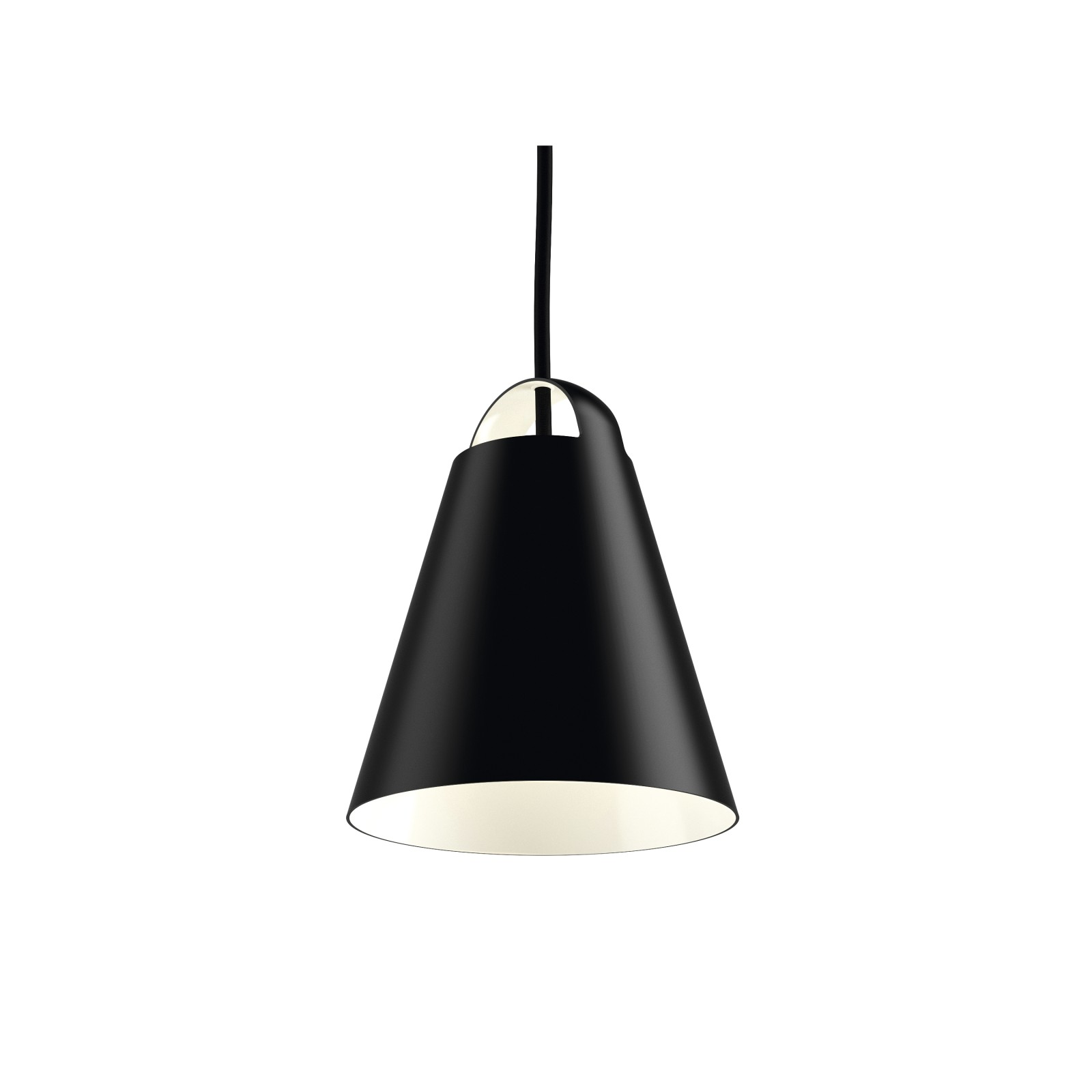 Above Pendant 175, Matt black