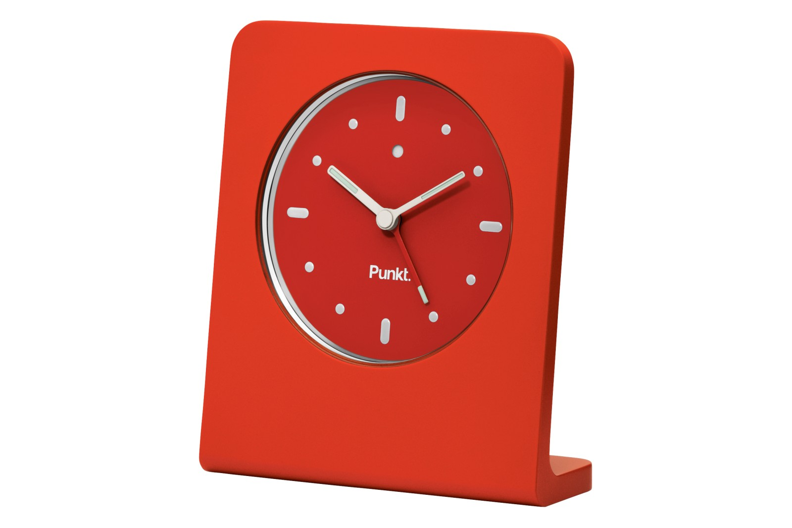 AC 01 Bedside Clock Red