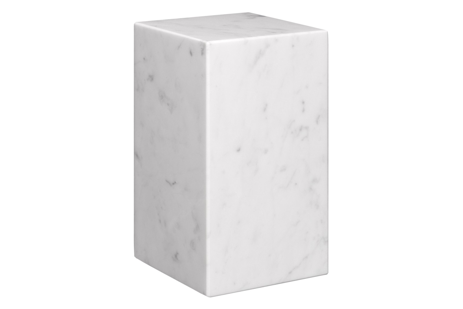 AC11 Stop Bookend White Marble, Tall