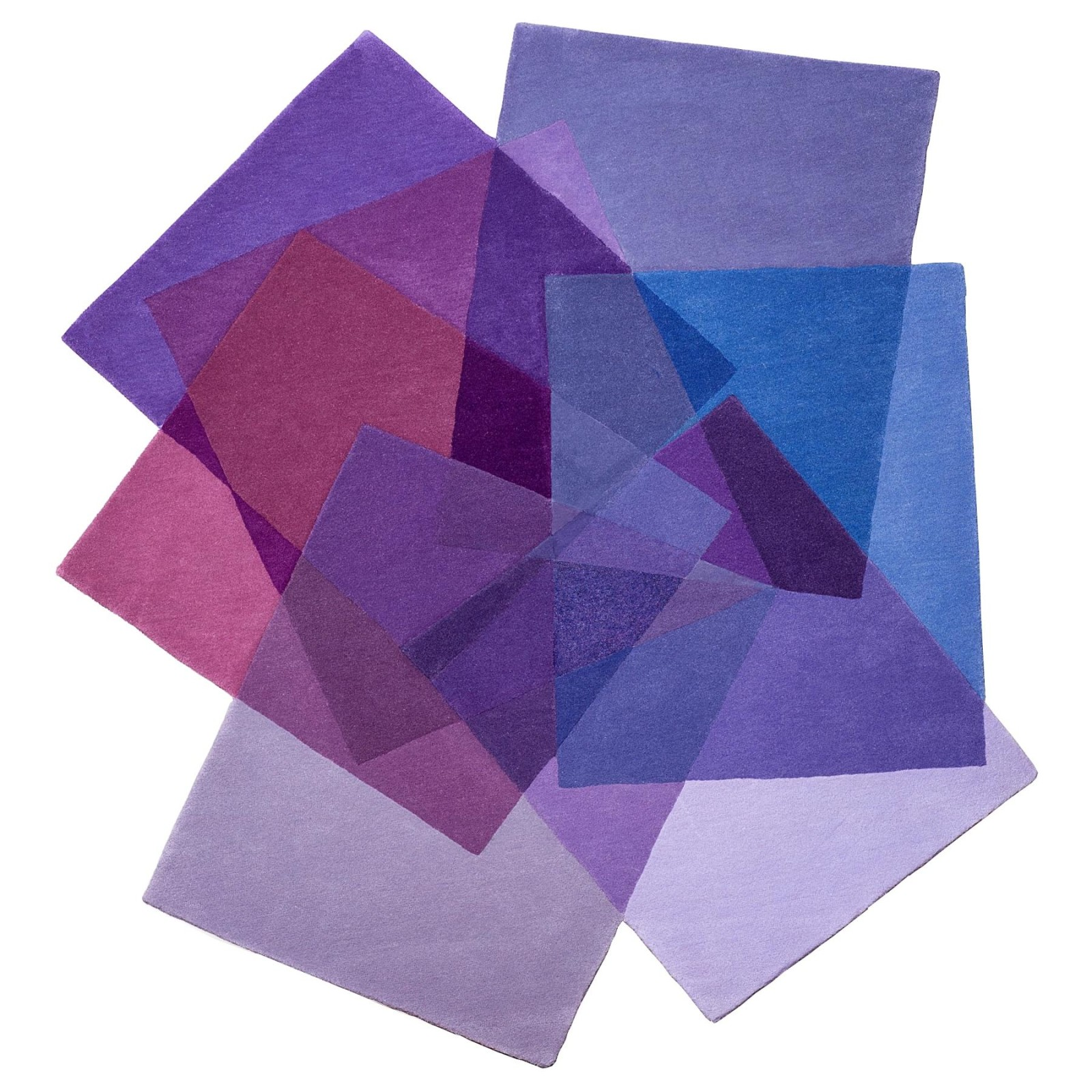 After Matisse Rug Purples, Small