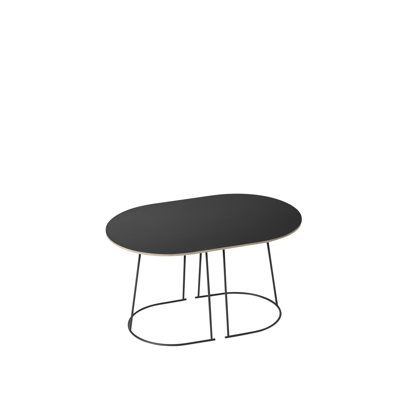Airy Coffee Table Small, Black