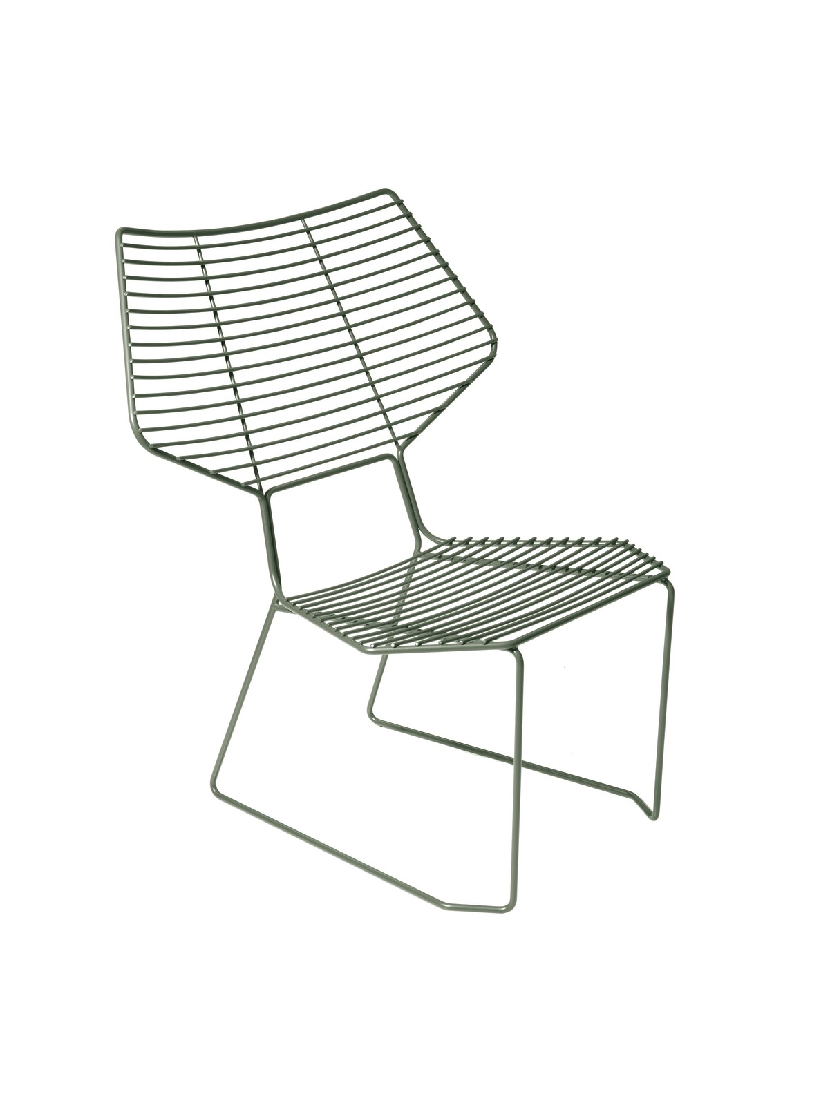 Alieno Chair Wide Back Hunter Green