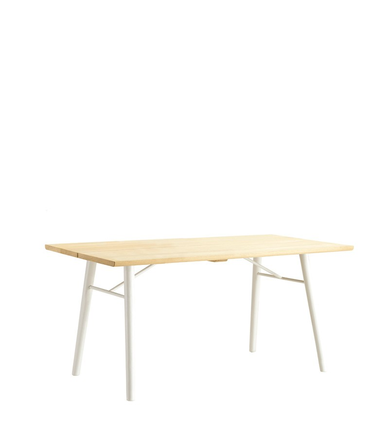 Alley Dining Table Oak, White, 240