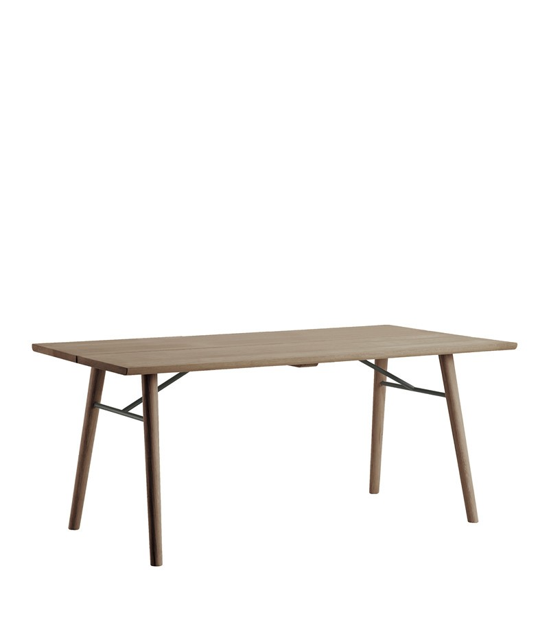 Alley Dining Table Smoke Oak, Smoke Oak, 205