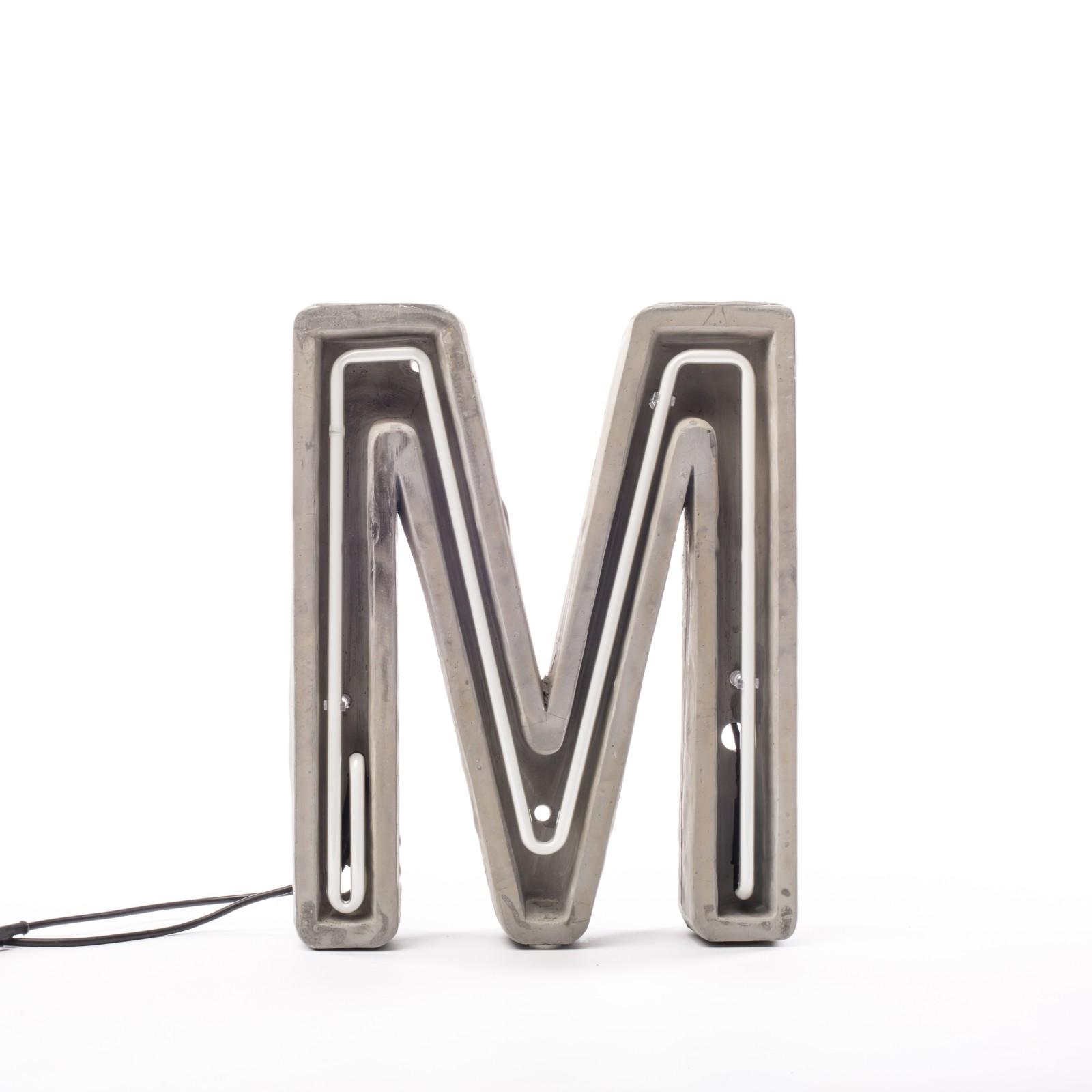 Alphacrete Alphabet Lamp M