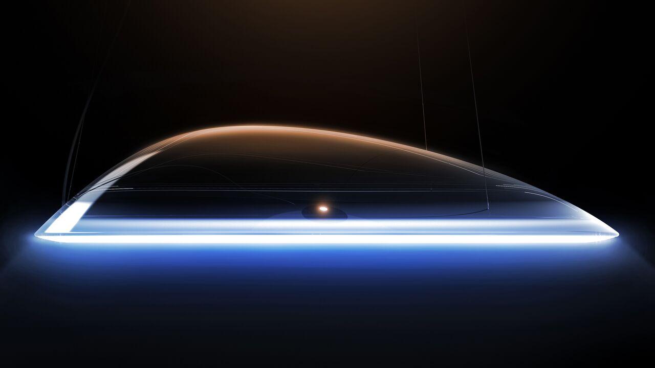Ameluna Pendant Light Transparent