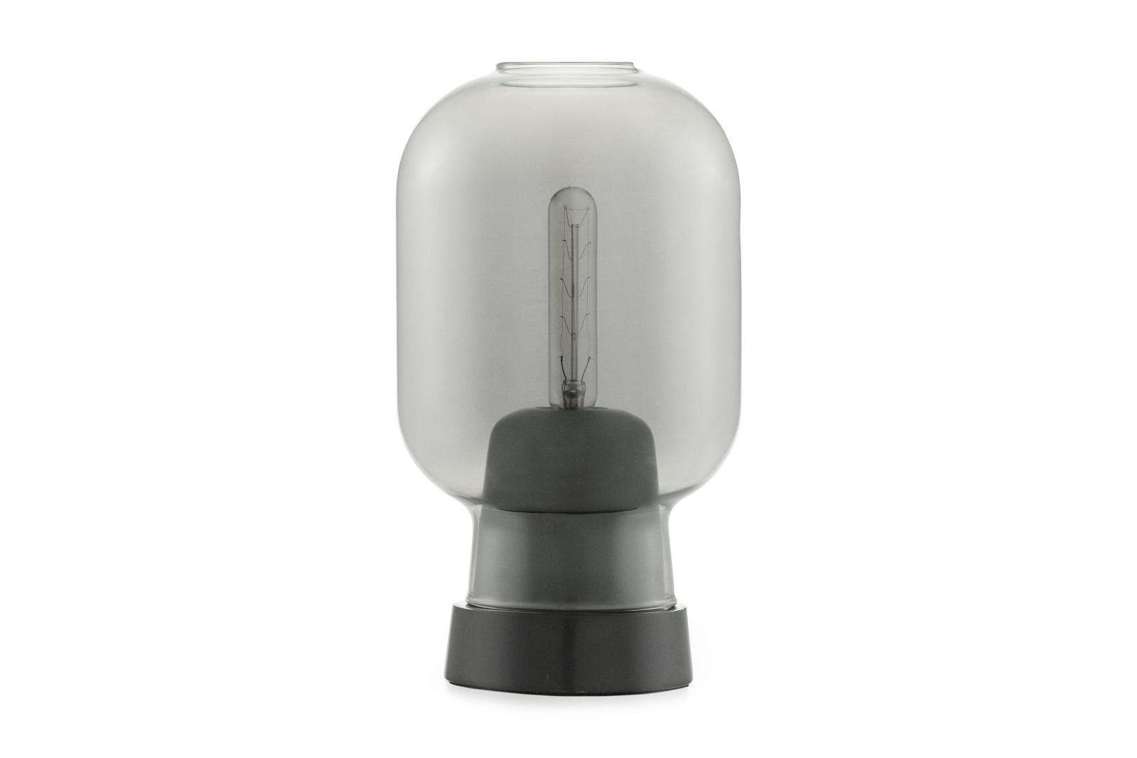 Amp Table Lamp Smoke