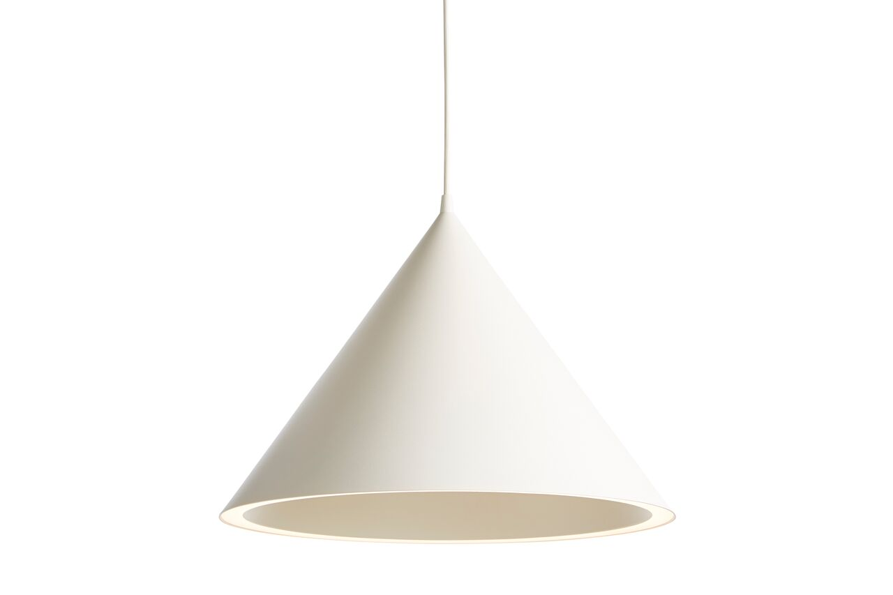Annular Pendant Light Large White