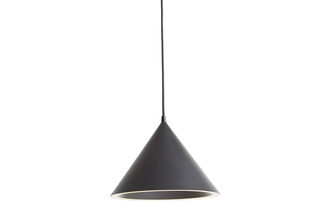 Annular Pendant Light Small - Set of 2 Black