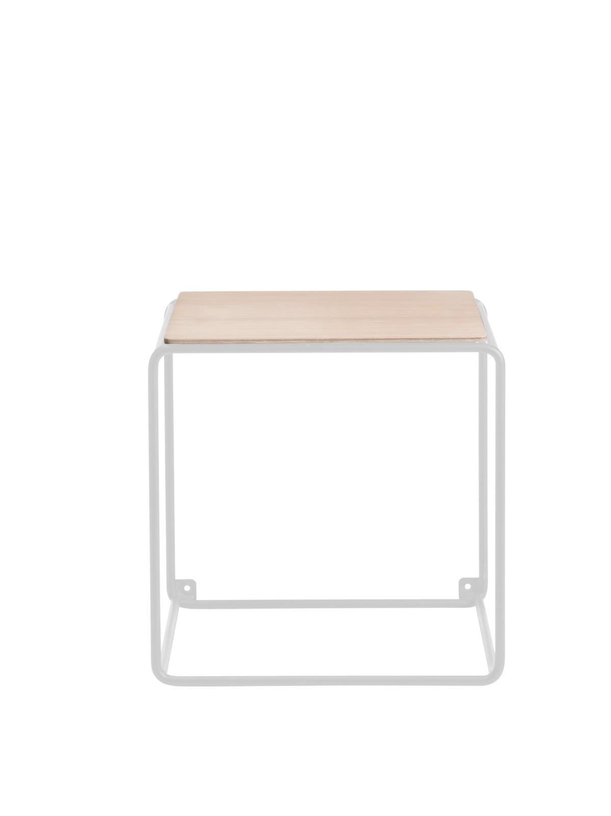 Anywhere System Shelf Anywhere 1 x 1 w. 1 shelf White/Oak