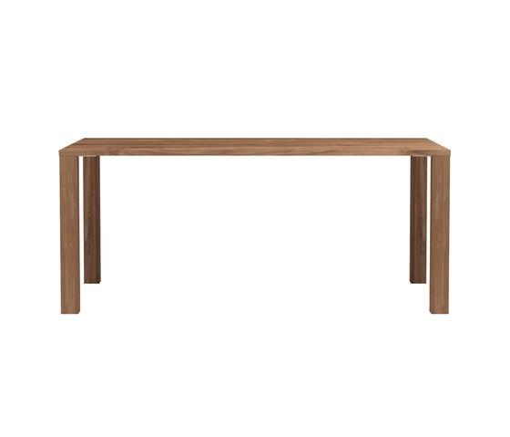 Apron Dining Table Teak, 180 x 90 x 76 cm