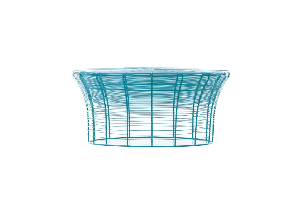 Aram Low Table Turquoise