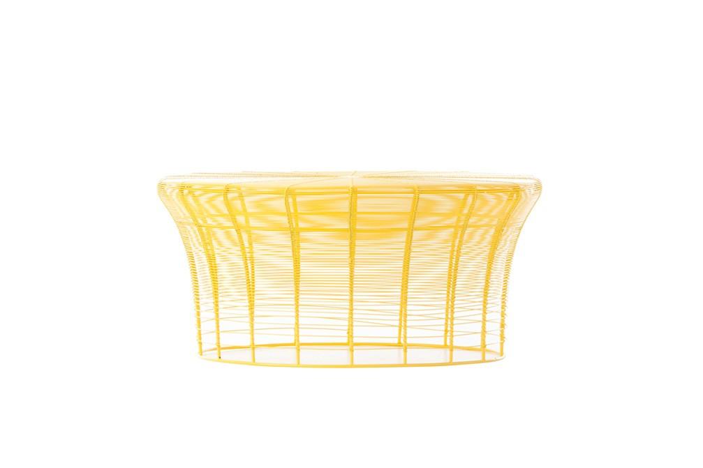 Aram Low Table Yellow