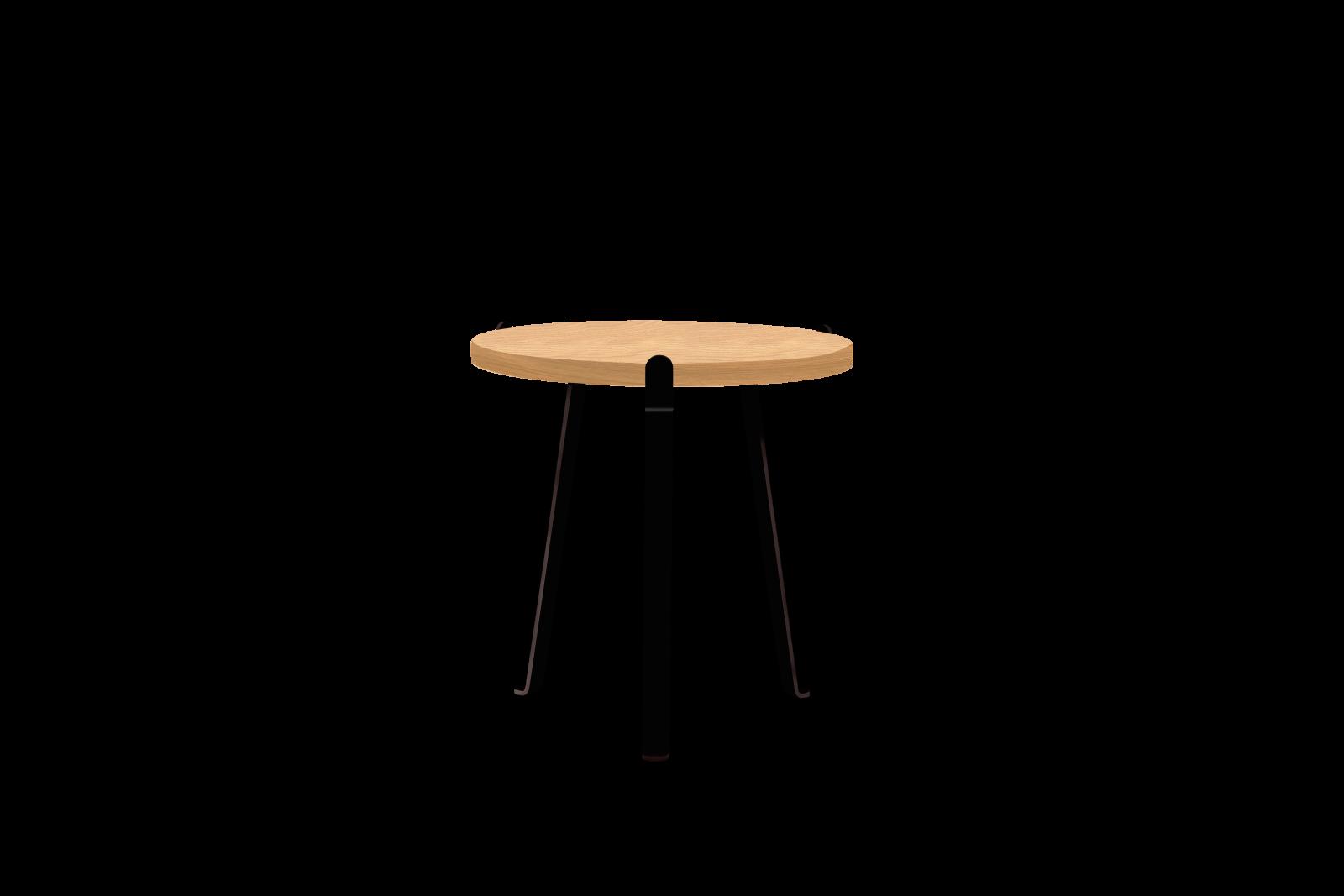 Arch Side Table Oiled oak veneer