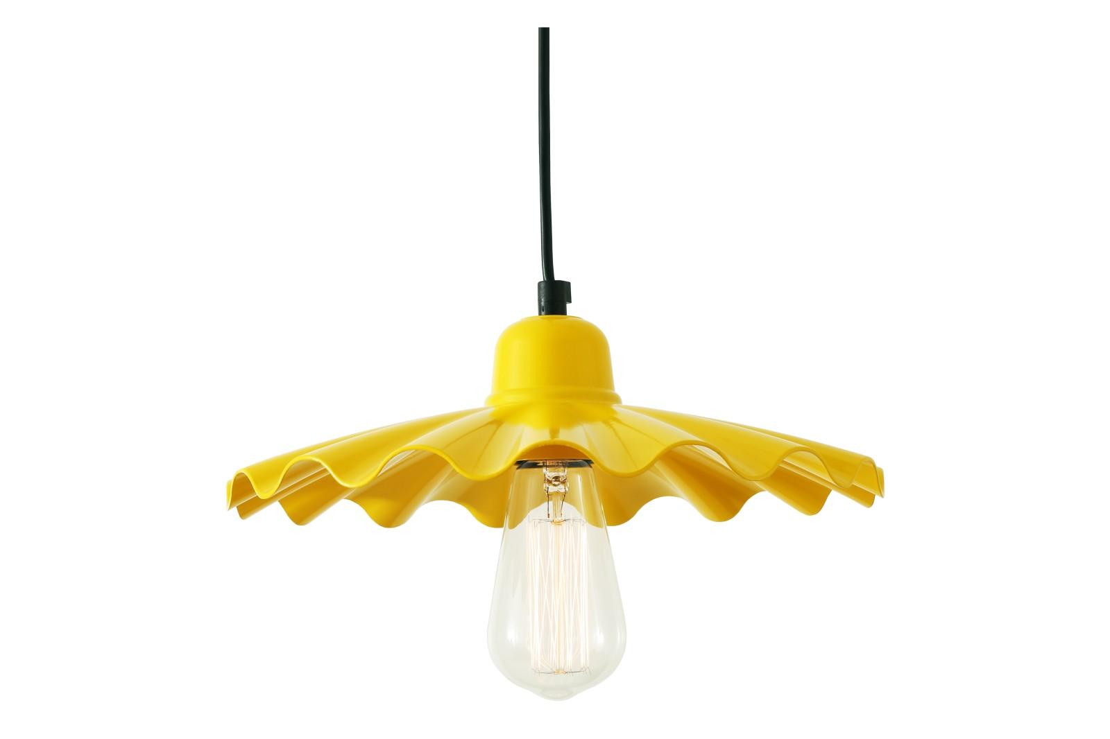 Ardle Pendant Light Powder Coated Yellow