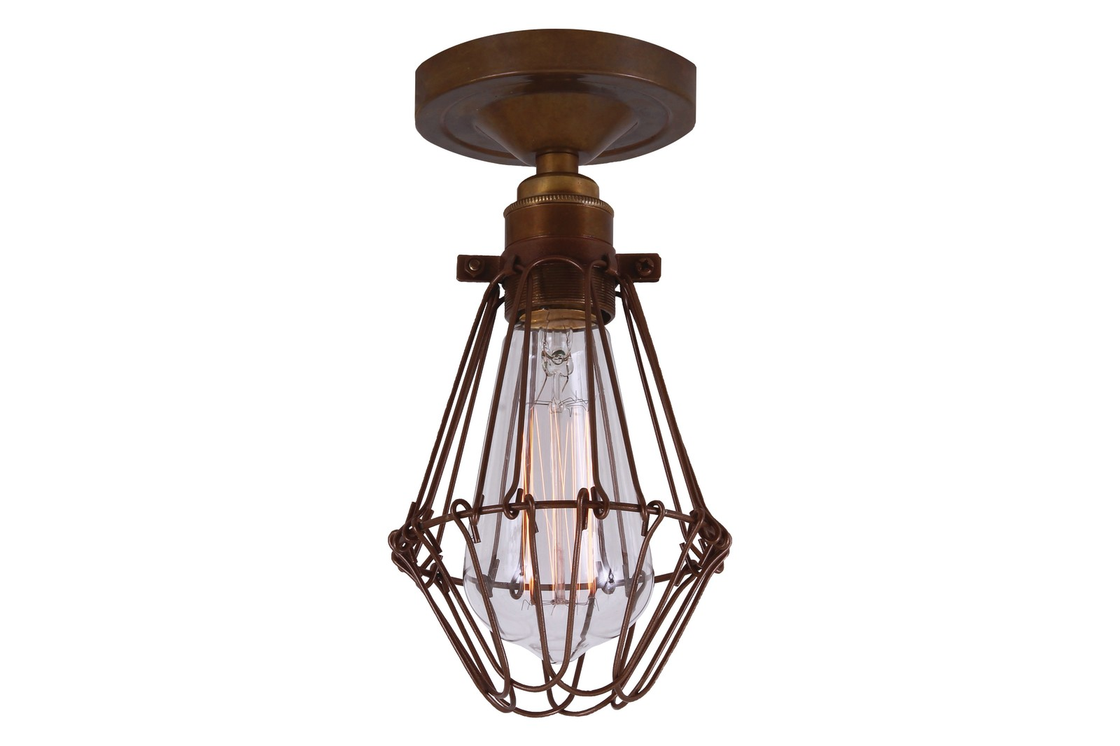 Aroch Ceiling Light Antique Brass
