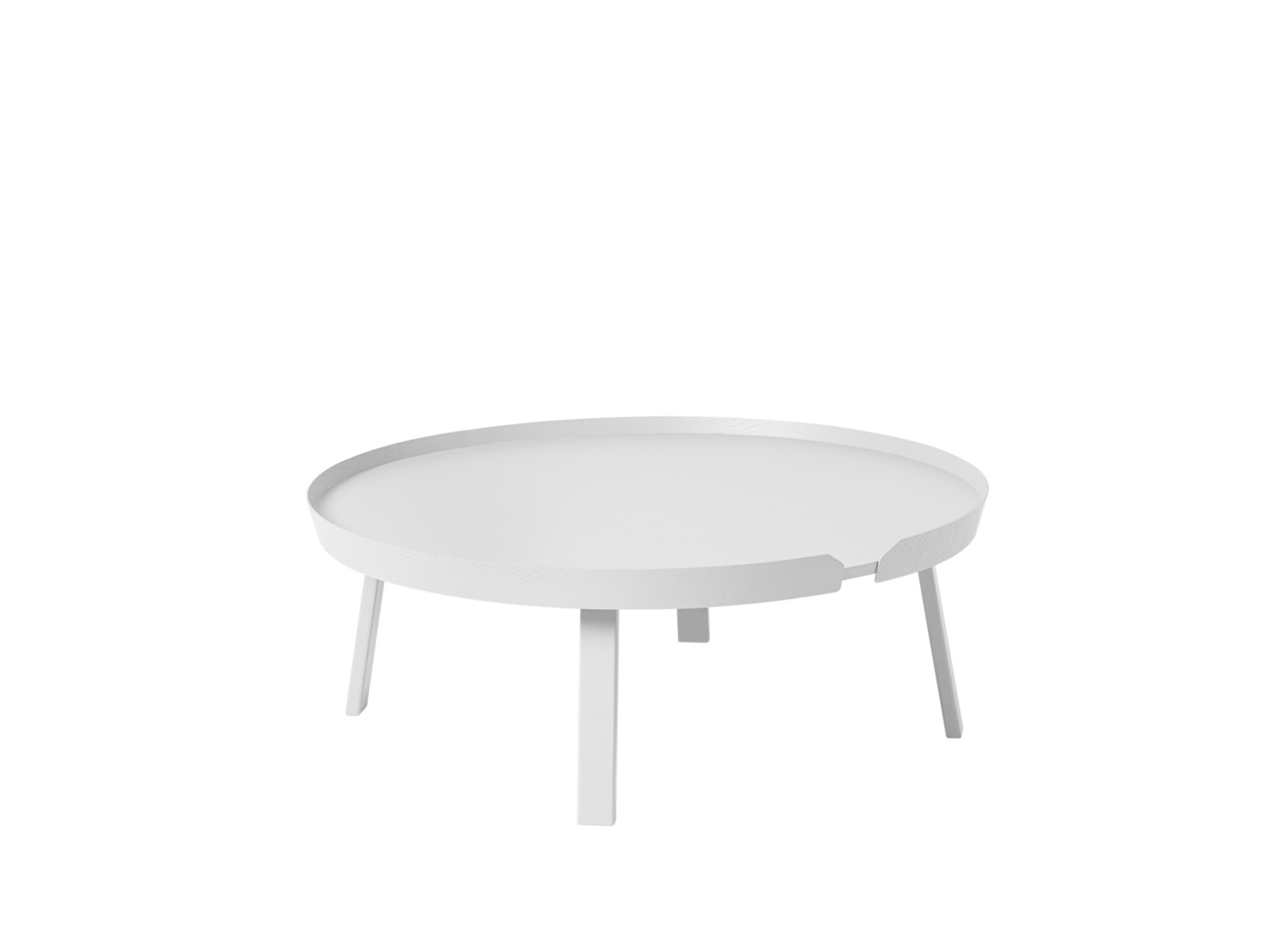 Around Extra Large Coffee Table White
