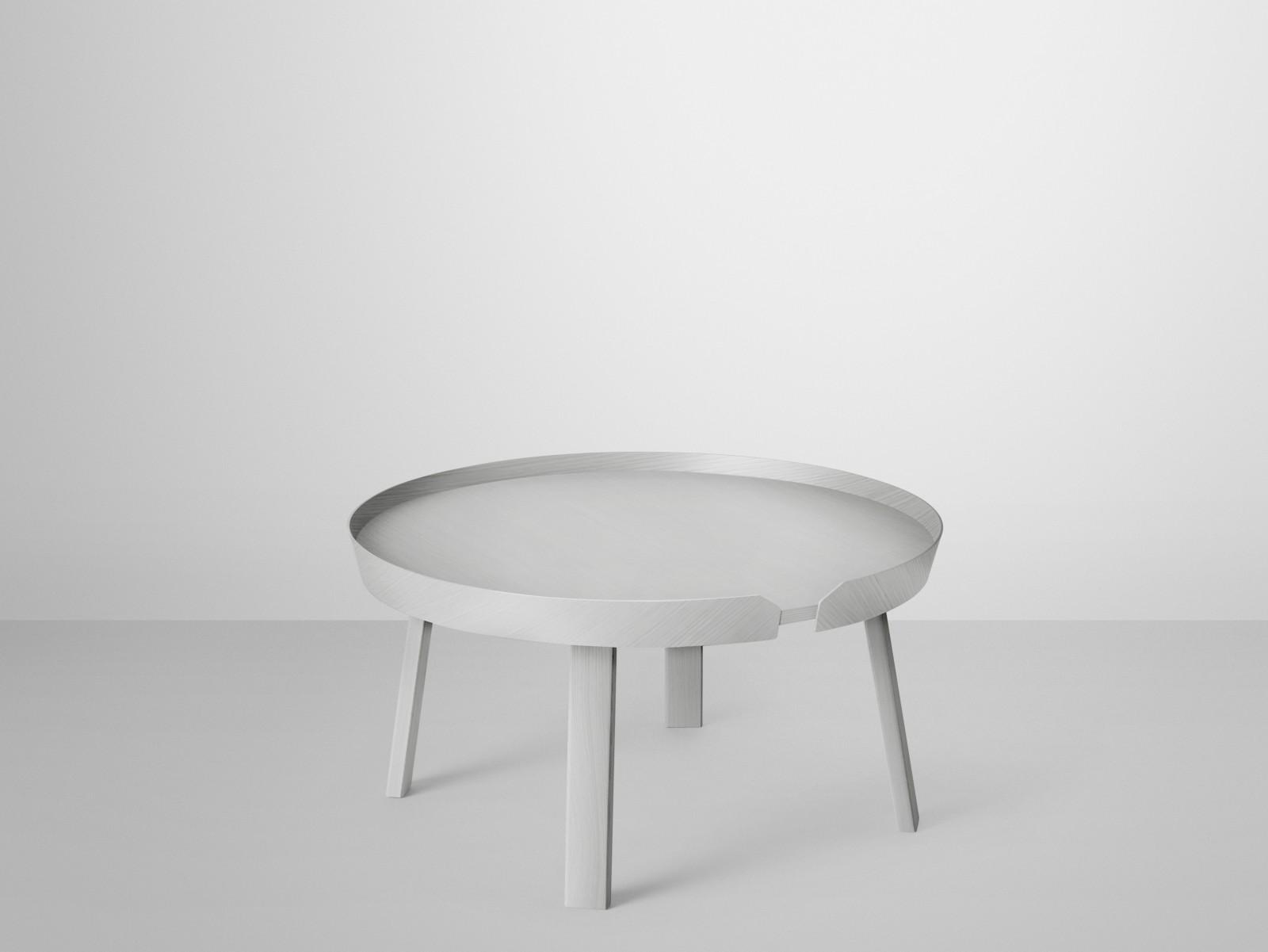 Around Large Coffee Table Grey